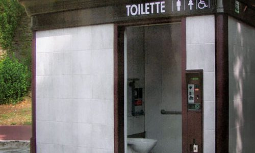 Manutenzione bagni pubblici automatizzati