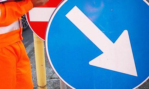 Manutenzione e riordino della segnaletica stradale